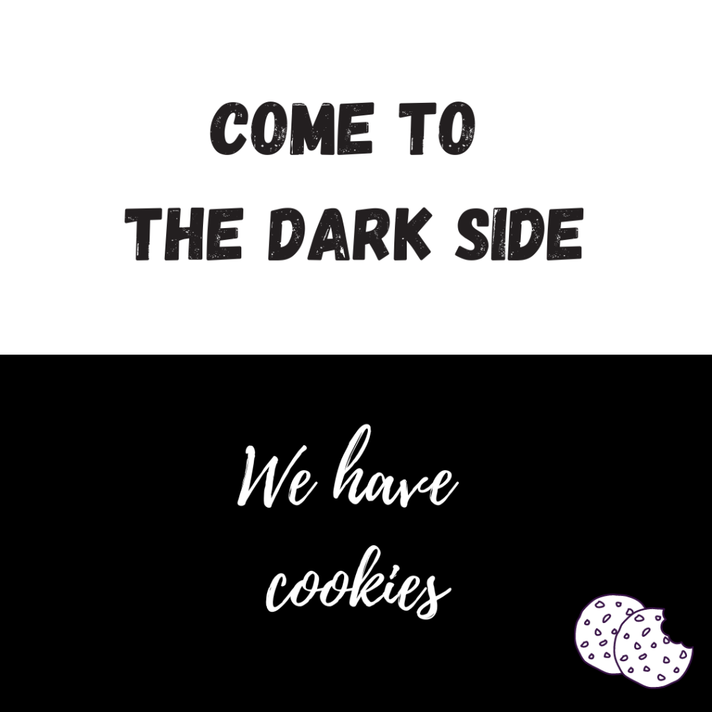 Food & Kitchen Quotes Come to the dark side we have cookies