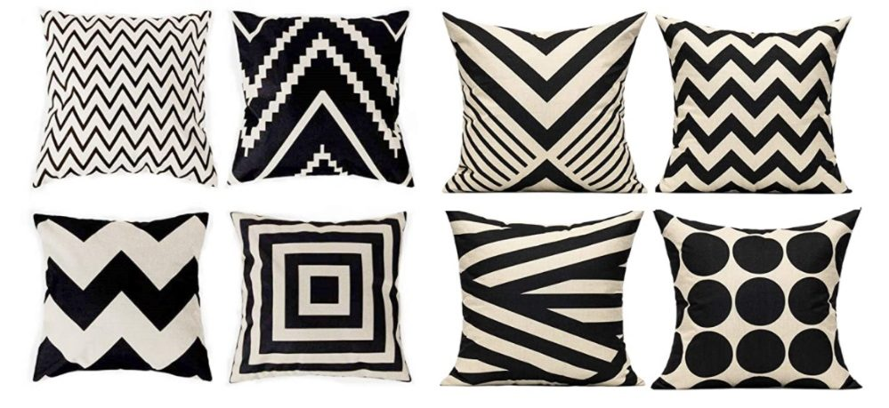 Amazon Throw Pillows with geometric design cozy home hacks