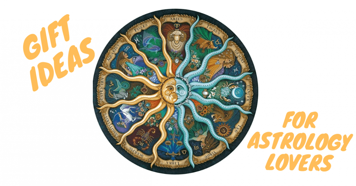 Gift ideas for astrology lovers banner