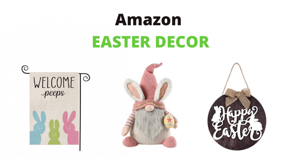 Amazon Easter Decor banner