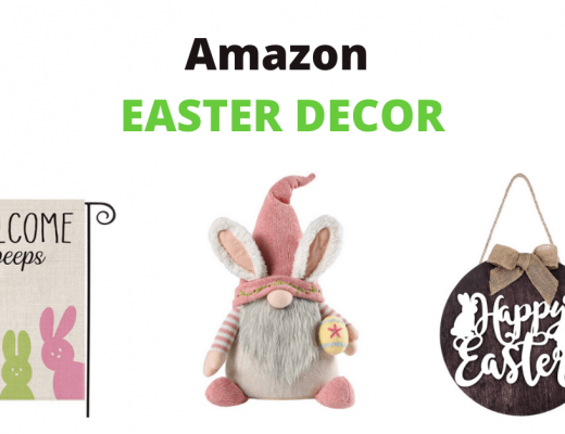 Amazon Easter Decor banner