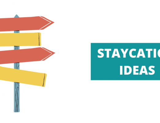 Staycation ideas banner