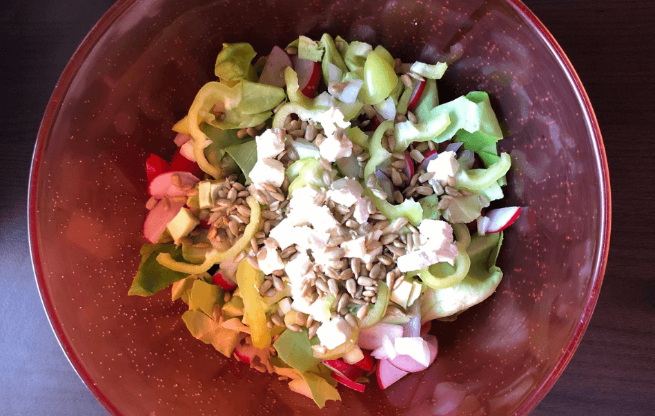Healthy Summer Salad Recipe banner