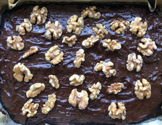 simple homemade brownie recipe