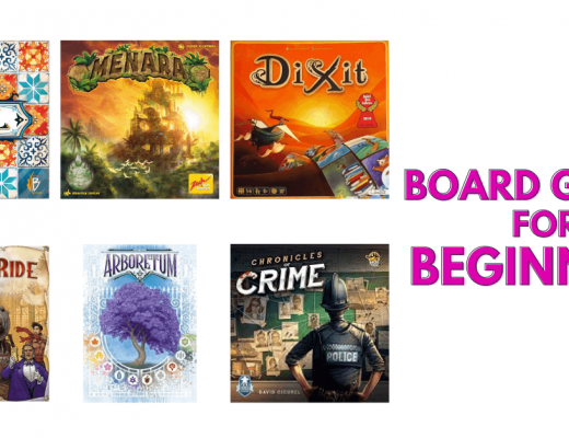 Board Games for Beginners banner