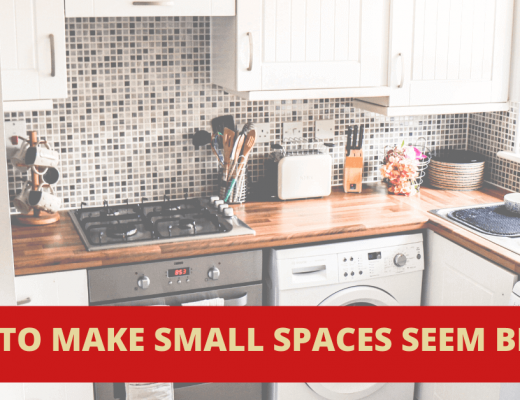 How to decorate small spaces banner 2