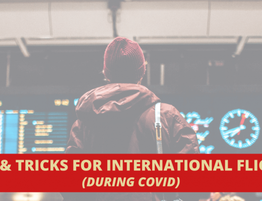 traveling internationally during covid banner