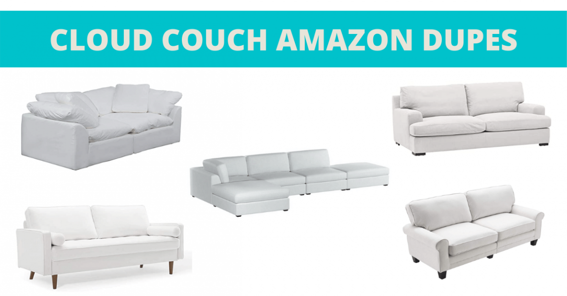 CLOUD couch amazon dupes banner