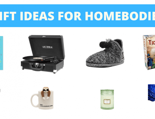 Gift ideas for homebodies banner