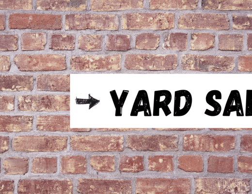 What to see at yard sale banner