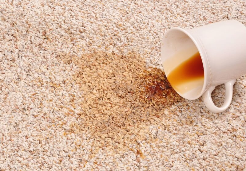 how to remove coffee stains from carpet banner