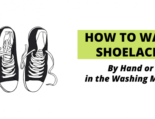 How to clean shoelaces banner