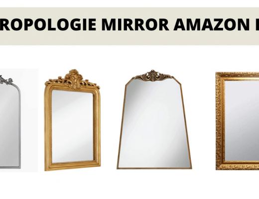 anthropologie mirror amazon dupes banner
