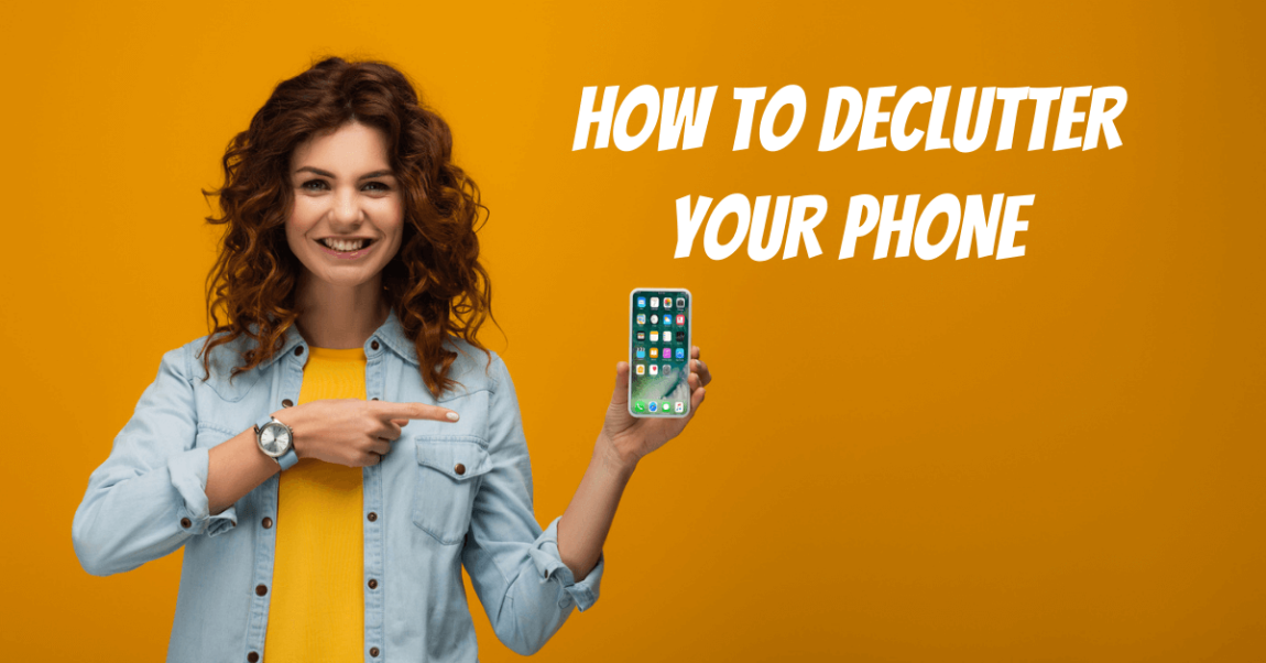 How to declutter your phone banner