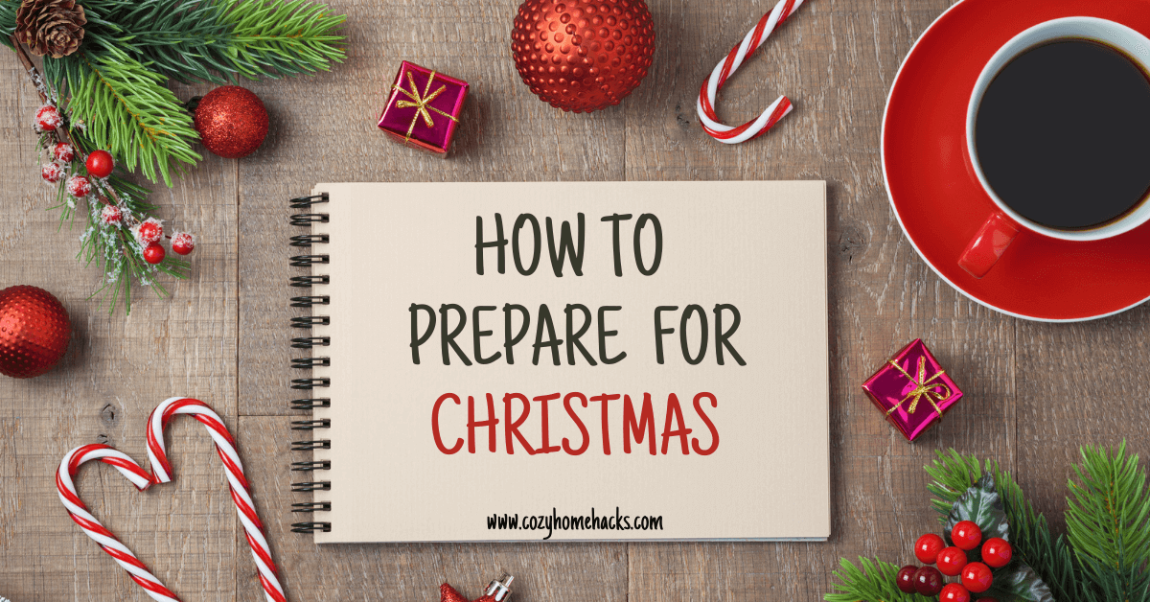 How to prepare for Christmas banner